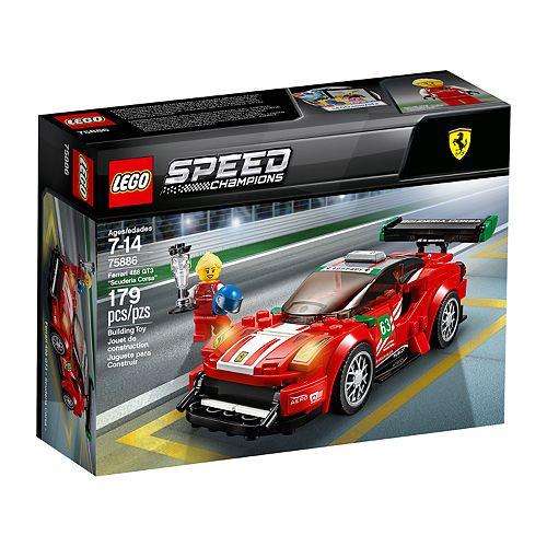 "LEGO Speed Champions Ferrari 488 GT3 ""Scuderia Corsa"" Set 75886"