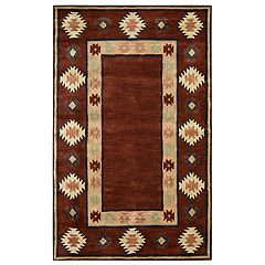 Rizzy Home Adelyn Southwest Collection Geometric Rug