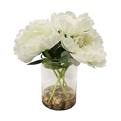 SONOMA Goods for Life™ Artificial White Peonies Table Decor