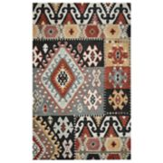 Rizzy Home Adriana Southwest Collection Geometric Patchwork Rug