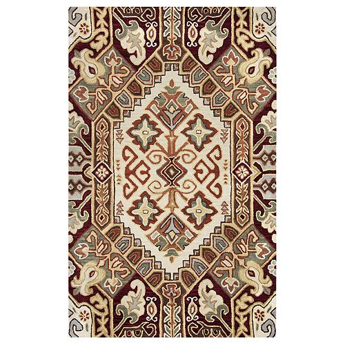 Rizzy Home Alayna Southwest Collection Medallion Rug