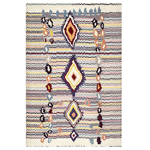 nuLOOM Moroccan Motely Geometric Rug