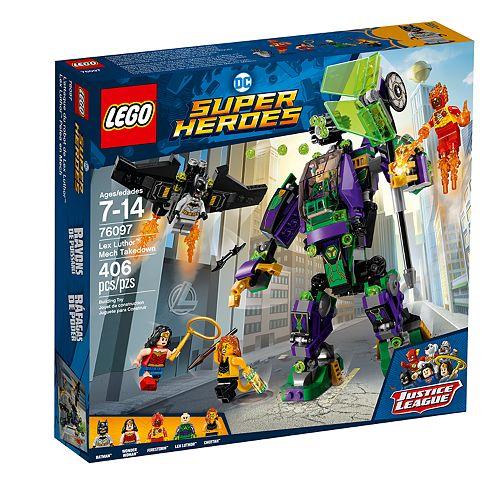 LEGO Super Heroes Lex Luthor Mech Takedown Set 76097