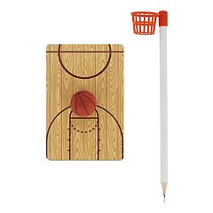 NPW Scribble Sports Desktop Basketball Game