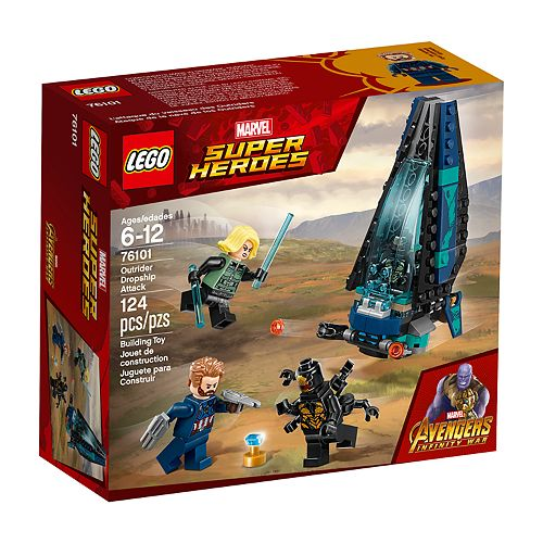 LEGO Super Heroes Outrider Dropship Attack Set 76101