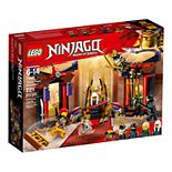 LEGO Ninjago Throne Room Showdown Set 70651