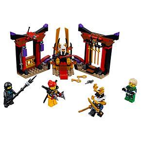 LEGO Ninjago Throne Room Showdown Set 70651
