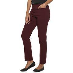 Women's Dana Buchman Pull-On Straight Leg Pants