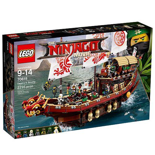 LEGO Ninjago Destiny's Bounty Set 70618