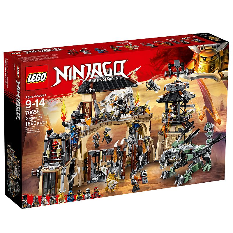 Lego Ninjago Dragon Pit70655
