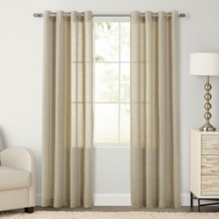 SONOMA Goods for Life? 2-pack Ayden Sheer Window Curtain