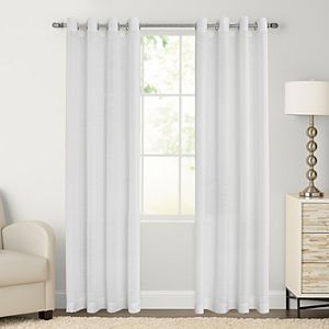 Sonoma Goods For Life® 2-pack Ayden Sheer Window Curtain