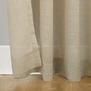 SONOMA Goods for Life? 2-pack Sheer Ayden Linen Window Curtain