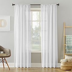 SONOMA Goods for Life™ 2-pack Sheer Ayden Linen Window Curtain