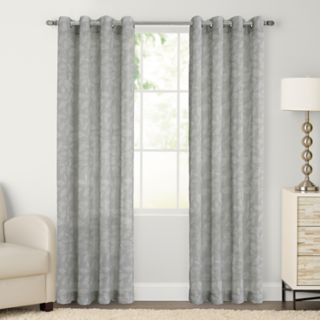 SONOMA Goods for Life? 2-pack Ayden Sayer Leaf Print Window Curtain