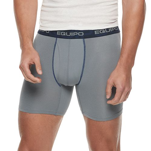Men's equipo 2-pack Modern-Fit Performance Mesh Boxer Briefs