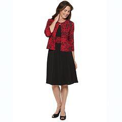2c1daccd9b8c Petite Jessica Howard Ruched Waist Jacket Dress