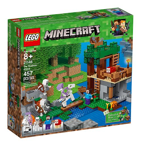 LEGO Minecraft The Skeleton Attack Set 21146