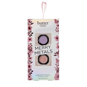 butter LONDON Merry Metals 2-pc. Glazen Eye Gloss Set