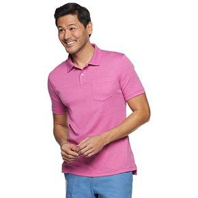 Men's Croft & Barrow® Slim-Fit Easy-Care Extra Soft Pocket Polo
