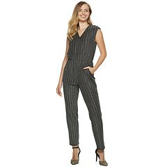 Women's Apt. 9® Metallic Jumpsuit