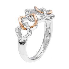 Simply Vera Vera Wang 1/4 Carat T.W. Diamond Ring