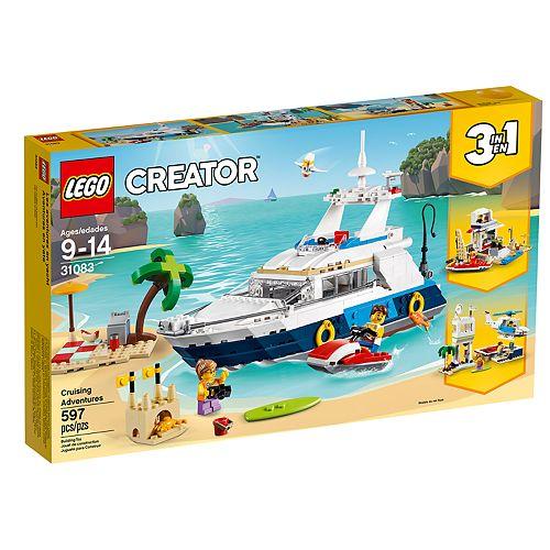 LEGO Creator Cruising Adventures Set 31083
