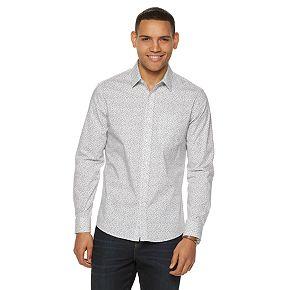 Men's Apt. 9® Slim-Fit Stretch No-Iron Button-Down Shirt
