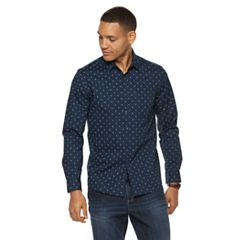 Men's Apt. 9® Slim-Fit Stretch No-Iron Button-Down Shirt