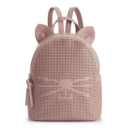 T-Shirt & Jeans Perforated Cat Backpack