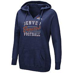 Plus Size Denver Broncos Football Hoodie