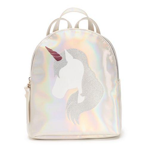 T-Shirt & Jeans Glitter Unicorn Backpack
