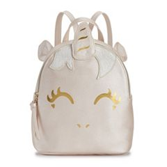 T-Shirt & Jeans Foiled Unicorn Backpack