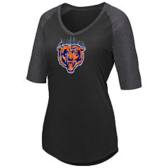 Plus Size Chicago Bears Logo Tee