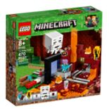 LEGO Minecraft The Nether Portal Set 21143