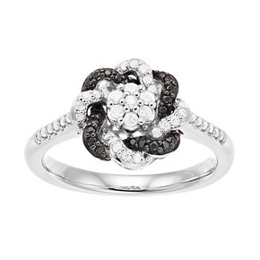 Simply Vera Vera Wang 1/3 Carat T.W. Knot Diamond Ring
