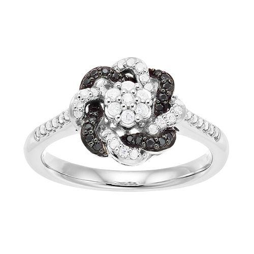 Simply Vera Vera Wang 1/3 Carat T.W. Knot Diamond Ring