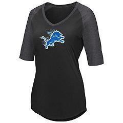 Plus Size Detroit Lions Logo Tee