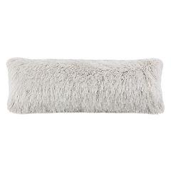 Safavieh Plush Shag Metallic Throw Pillow