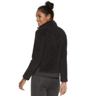 Women's FILA SPORT® Sherpa Raglan Full Zip Jacket