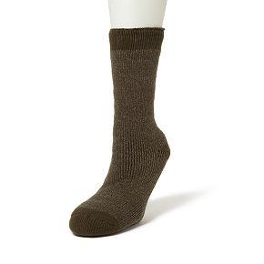 Men's Dearfoams Brushed Cabin Crew Socks