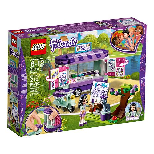 LEGO Friends Emma's Art Stand Set 41332
