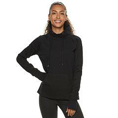 Women's FILA SPORT® Boxy Funnelneck Fleece Top