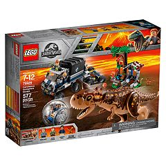 LEGO Jurassic World Carnotaurus Gyrosphere Escape Set 75929