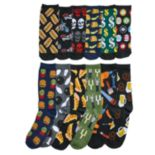 Men's Food & Drink 12 Days of Socks Gift Set