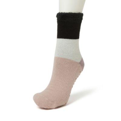 Women's Dearfoams Striped Cabin Slipper Socks