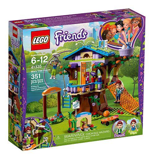 Lego Friends Mias Tree House Set 41335