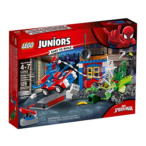 LEGO Juniors Spider-Man vs. Scorpion Street Showdown Set 10754