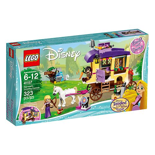LEGO Disney Princess Rapunzel's Traveling Caravan Set 41157