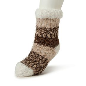 Women's Dearfoams Eyelash Knit Flurry Slipper Socks
